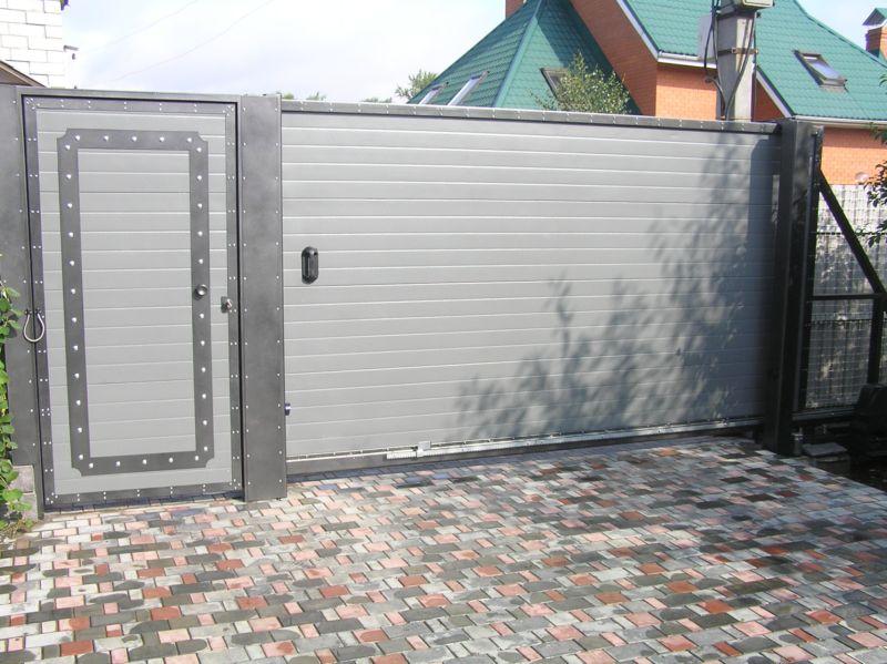 Автоматические ворота купить в липецке ворота металлические с калиткой фото цена новомосковск